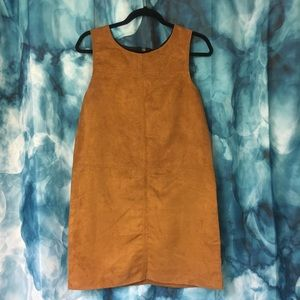 NEW Sanctuary Tan Suede Dress